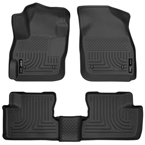 - Husky Liners Front & 2nd Seat Floor Liners Fits 10-13 Mazda 3 Hatchback/Sedan