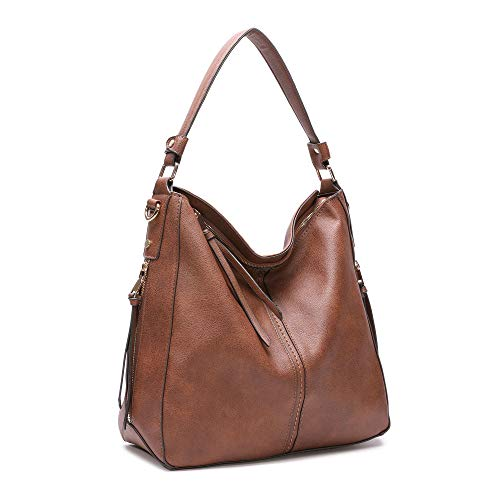Brown Hobo Handbag - 9