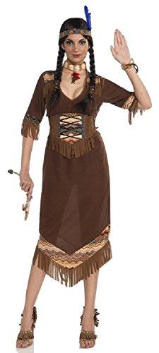 Princess Little Deer Adult Costumes (Forum Novelties Princess Little Deer Native American Costume, Brown, Standard)