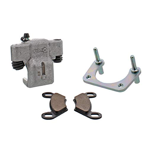 NICHE Rear Left Brake Caliper Pads Mounting Bracket for Polaris RZR S 800 2009-2014 ()
