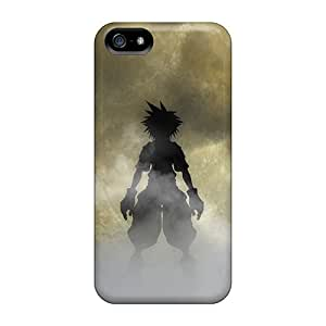 SherriFakhry Iphone 5/5s Shock Absorption Cell-phone Hard Cover Support Personal Customs Nice Kingdom Hearts Series [QgJ13036mwrc]