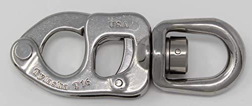 Tylaska T16 Trigger Release Snap Shackle (Standard Bail) (Bail Snap Shackle Trigger)