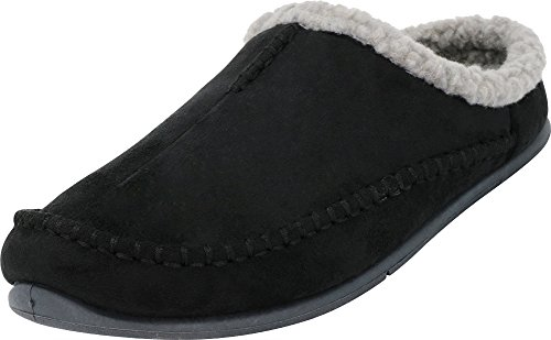 Tamarac by Slippers International Men's Lancaster Berber Fleece Lined Clog...