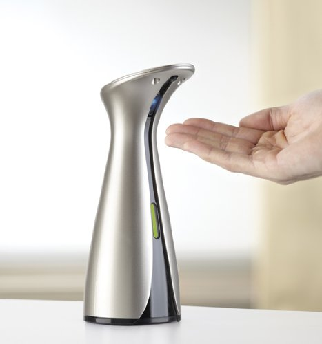Electric Soap Dispenser ~ Umbra otto automatic soap dispenser nickel buy online