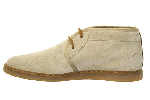 Beige Fred Uomo Claxton Perry Polacchina Scamosciata Suede Scarpa Modello Mid Colore xYwgRY