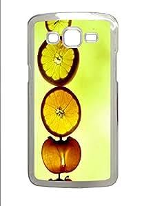Samsung 2 7106 Case Fruit Train PC Custom Samsung 2 7106 Case Cover Transparent