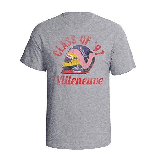 Ptshirt.com-19176-Jacques Villeneuve Mens Motor Racing Legend T-Shirt [Apparel]-B00MM0QGLI-T Shirt Design