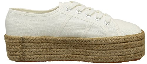 Superga White Women's Cotropew Trainers 2790 ZB6ZwP