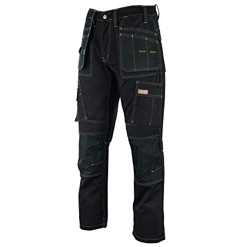 Prime Mens Work Jeans Trousers Cargo Combat Multi Pocket Army Working Trousers BLJ-02
