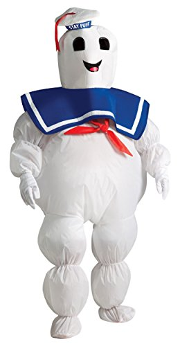 Inflatable Stay Puft Marshmallow Man Costume (Inflatable Stay Puft Marshmallow Man Kids Costume - Child Sized)