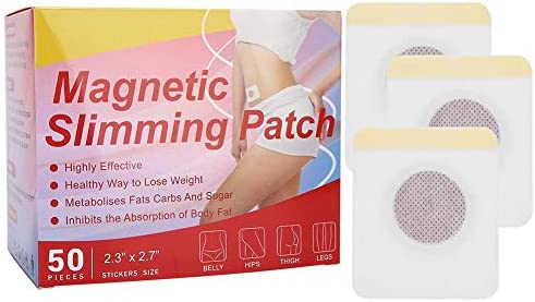 Crisis Weight Loss Sticker, 50Pcs Belly Patch Abnehmen Weight Sticker, fördern den Stoffwechsel Loss Fat Firming Sticker, Navel Fat Burning Adhesive Sticker für Frau, Mann