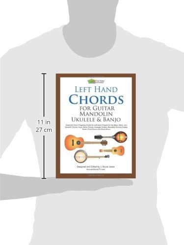 Amazon Left Hand Chords For Guitar Mandolin Ukulele And Banjo
