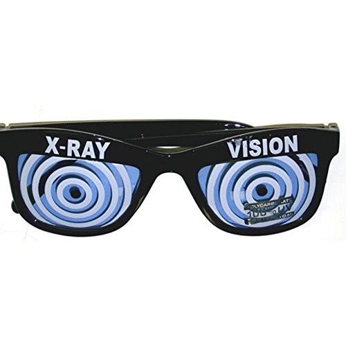 Blue X-Ray Vision Glasses