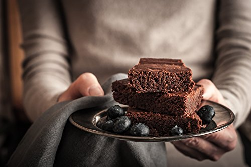 Non Stick Brownie Pans with Dividers, Diveded Brownie Pan All Edges, 8 inch by 12 inch by SUJUDE (Image #2)