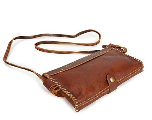 a Bolsos Retro Compras Black Diario glossy Mujer BAO iPad Mano Shiny Tres Hechos Bandolera Colores Bolso light Bandolera Cartera fgAzY