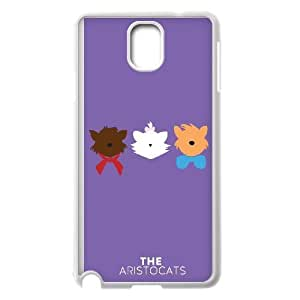 Aristocats Samsung Galaxy Note 3 Cell Phone Case White Phone Accessories VR699666
