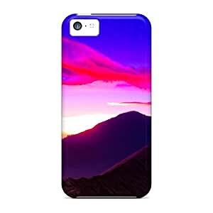 New Fashion Premium Cases Covers For Iphone 5c - Beautiful Mount Bromo Sunrise