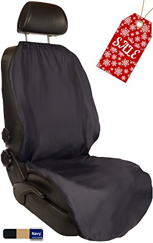 CleanRide™: Bacteria-Resistant, 100% Waterproof Car Seat Cover and Protector: Triathlon Beach Yoga Running Crossfit Sweat Workout (Odor-Resistant and - Beach Lincoln