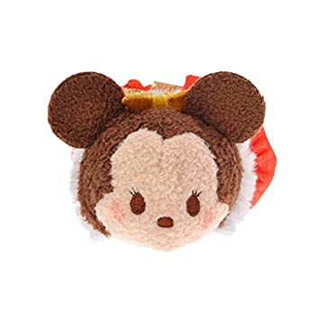 Disney Store stuffed Christmas Minnie mini (S) TSUM TSUM Japan Import