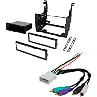 CAR STEREO RADIO KIT DASH INSTALLATION MOUNTING TRIM BEZEL W/ WIRING HARNESS FOR LEXUS 1992-1996 ES300