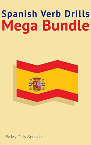 Spanish Verb Drills Mega Bundle ebook product image