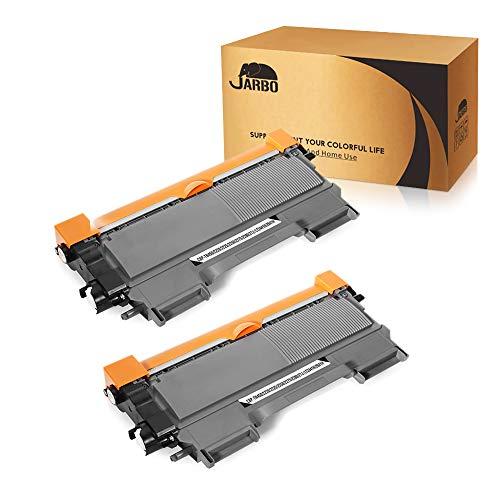 JARBO Compatible TN450 TN-450 TN420 TN-420 Toner Cartridge Replacement for Brother TN450 TN420 (Black, 2 Packs)