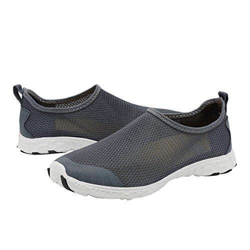 Wading Quick Womens Drainage rlsm Drainage Walking 18 Sports Dry Water Men Shoes Swim Aqua Beach Fanture Yoga Holes Gray03 zPqA5Ix