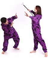 Wizard Non Footed Pajama Adult Onesie PJ Jumpsuit XS-XXLarge, Size on Height
