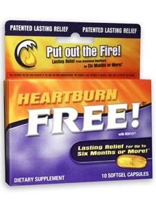 Enzymatic Therapy 1000 MG HeartBurn Free - 10 Softgels (Pack of 2)