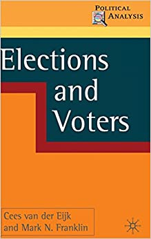 Book Elections and Voters (Political Analysis)
