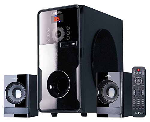 beFree Sound BFS-50 2.1 Channel Surround Sound Bluetooth Speaker System by BEFREE SOUND