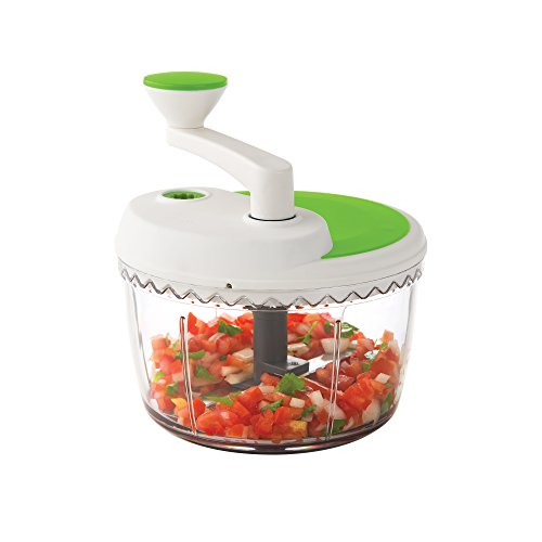Prepworks by Progressive Dual Speed Chop & Whip, Two Speed Settings, Non-Skid Base, Whip Cream, Dressings, Mincing Onions, Salsa, Mixer, Vegetables, Coleslaw by Progressive International (Image #7)'