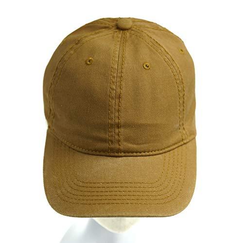 accsa Unisex Vintage Washed Twill Cap