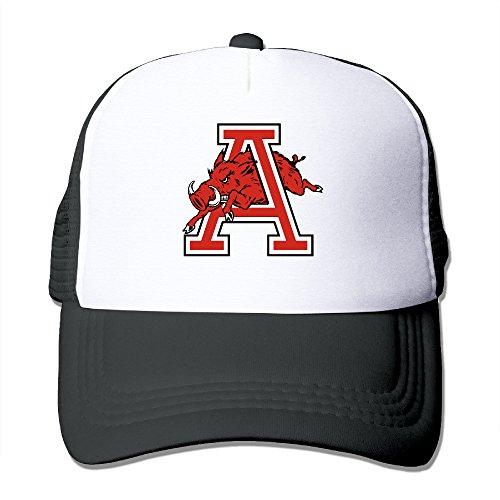 ACMIRAN University Of Arkansas Razorbacks Personalize Hiphop Cap One Size Black (Zombie Football Costume)