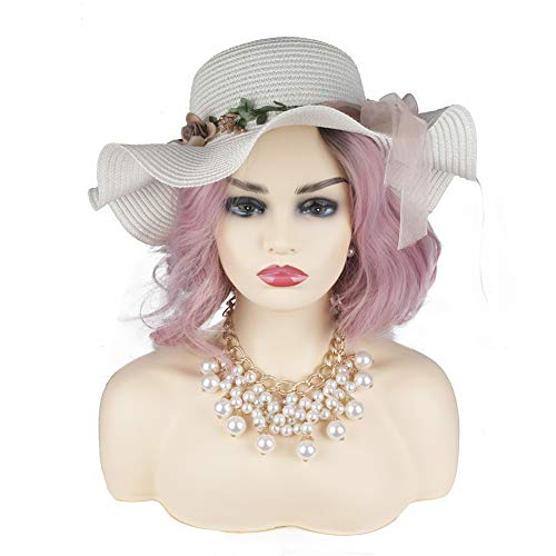 L7 Mannequin New Dark Style PVC Manikin Head Realistic Mannequin Head Bust Wig Head Stand for Wigs Display Making Styling