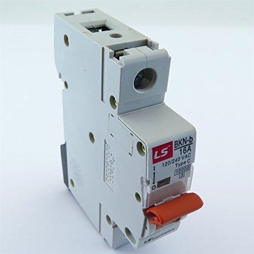 16 A 120//240 V Disjoncteur courbe C