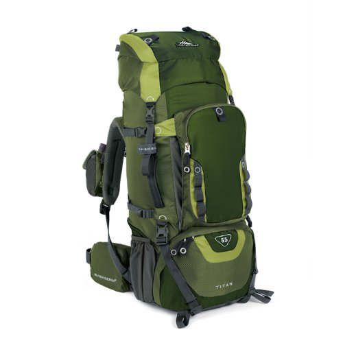 High Sierra Titan 55 Frame Pack Amazon/Pine/Leaf, Outdoor Stuffs