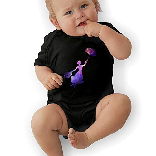 Mary Poppins Galaxy Space Unisex Baby Short Sleeve - Space Jumpsuit Crawl