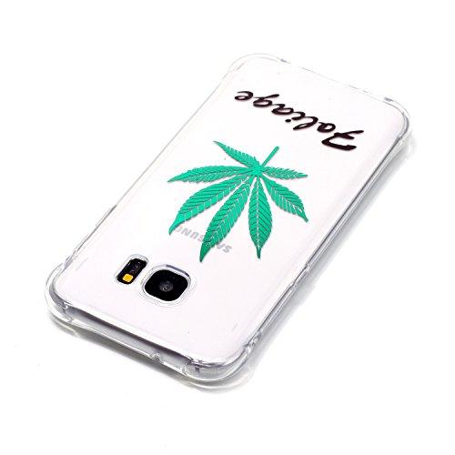 inShang Samsung Galaxy S5 2014 Funda Case de [funda para Samsung Galaxy de Transparente] [ 3D imagen con la tecnología de broncea],la cubierta protectora conveniente estilo nuevo case cover para el Sa 04