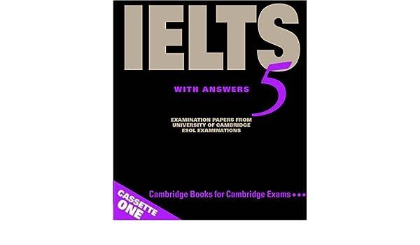 Amazon com: Cambridge IELTS 5 Audio Cassettes (IELTS