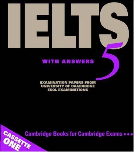Cambridge IELTS 5 Audio Cassettes (IELTS Practice Tests) by Cambridge University Press
