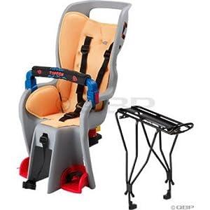 Topeak Baby Sitter II Bike Seat with Alloy Rack w/Disc Rack TCS2202