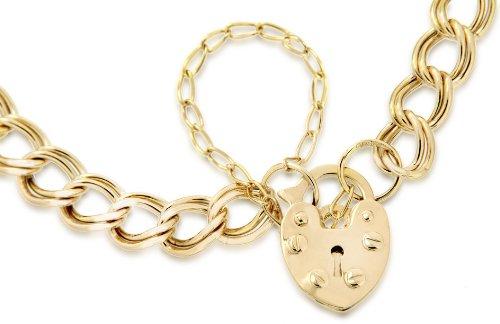 Carissima Gold - Bracelet - Femme - Coeur - Or jaune (9 Cts) 3.52 Gr