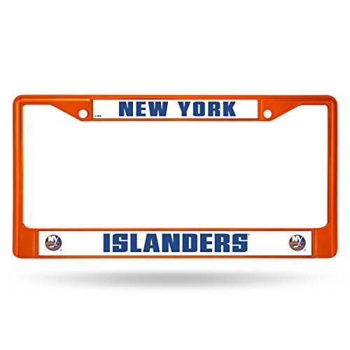 (Rico Industries NHL New York Islanders Team Colored Chrome License Plate Frame,)