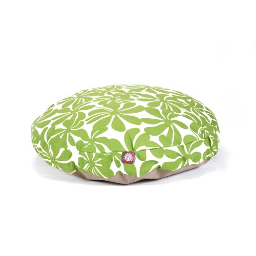 Sage Plantation Large Round Indoor Outdoor Pet Dog Bed With Removable Washable Cover By Majestic Pet Products