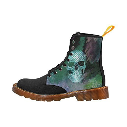 LEINTEREST Skull Martin Boots Fashion Shoes For Women hI6WlfmW43