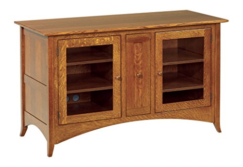 Amish Heirlooms Shaker Hill Solid Cherry TV Cabinet, 54