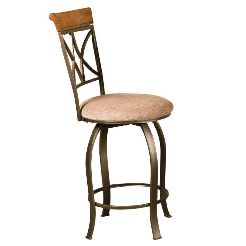 Swivel Bar Stool Hamilton - Powell Hamilton Swivel Counter Stool