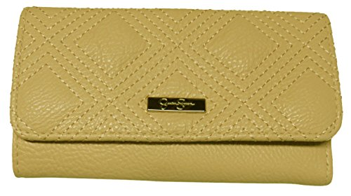 Jessica Simpson Women's Sadie Tri Fold Wallet, Powder Blush