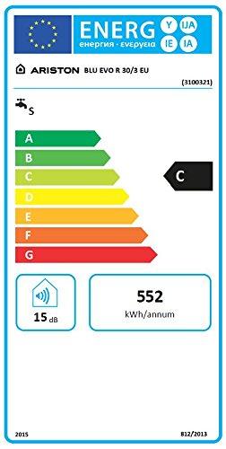 Ariston 3100321 scaldabagno elettrico 30 litri bianco for Amazon scaldabagni elettrici